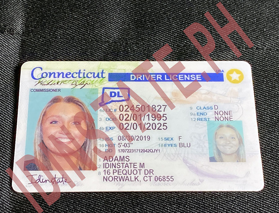 IDINSTATE IDINSTATE.PH New Connecticut State Fake ID